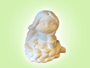 Keramik zuhausemalen.de | Rapunzel (Farbgröße S) Figuren