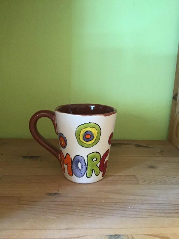 "Keramik zuhausemalen.de   Konischer Becher. <span style=""font-size: 10px"">(Farbgröße M)</span> Tassen&Becher"