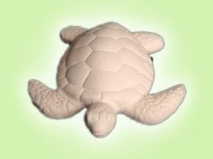 "Keramik zuhausemalen.de | Caretta Seeschildkröte <span style=""font-size: 10px"">(Farbgröße S)</span> Figuren"