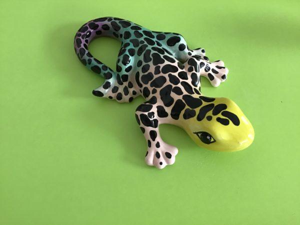 "Keramik zuhausemalen.de | Gecko groß <span style=""font-size: 10px"">(Farbgröße M)</span> Figuren"
