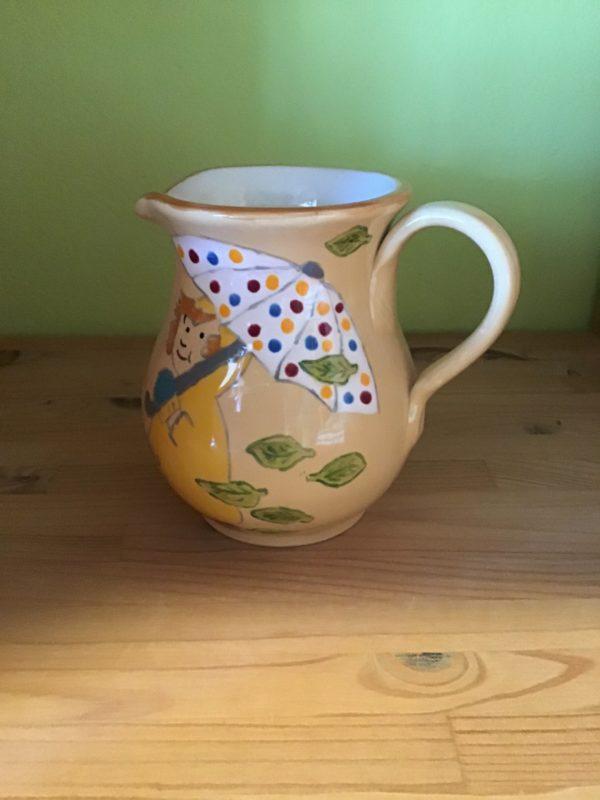 "Keramik zuhausemalen.de | Krug bauchig 0,5 Liter <span style=""font-size: 10px"">(Farbgröße M)</span> Krüge & Kannen"