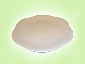 Keramik zuhausemalen.de | Flower Power Essteller (Farbgröße L) Teller