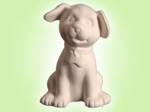 "Keramik zuhausemalen.de | Spardose Hund <span style=""font-size: 10px"">(Farbgröße M)</span> Spardosen"