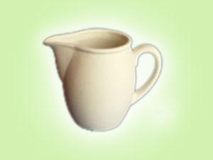 Keramik zuhausemalen.de | Milchkännchen Maresi (Farbgröße S) Für den Tisch