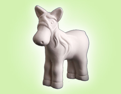 """Keramik zuhausemalen.de   Mini Pony <span style=""""font-size: 10px"""">(Farbgröße XS)</span> Figuren"""