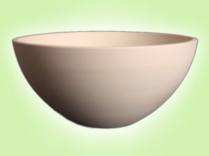 "Keramik zuhausemalen.de | Schale Serie Soho 14 <span style=""font-size: 10px"">(Farbgröße M)</span> Schüsseln&Schalen"