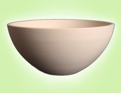 "Keramik zuhausemalen.de   Schale Serie Soho 14 <span style=""font-size: 10px"">(Farbgröße M)</span> Schüsseln&Schalen"