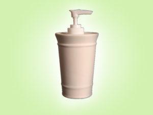 "Keramik zuhausemalen.de | Seifenspender inkl.Pumpe <span style=""font-size: 10px"">(Farbgröße M)</span> Bad"