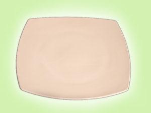 "Keramik zuhausemalen.de | Teller quadratisch 27 <span style=""font-size: 10px"">(Farbgröße L)</span> Teller"