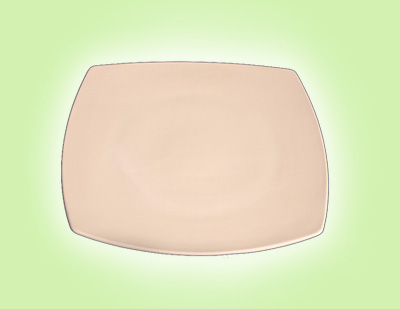 "Keramik zuhausemalen.de | Teller quadratisch 21 <span style=""font-size: 10px"">(Farbgröße M)</span> Teller"