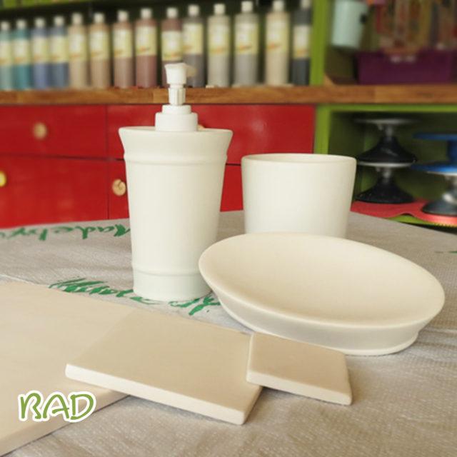 Fürs Bad – Keramik selbst (zuhause) bemalen