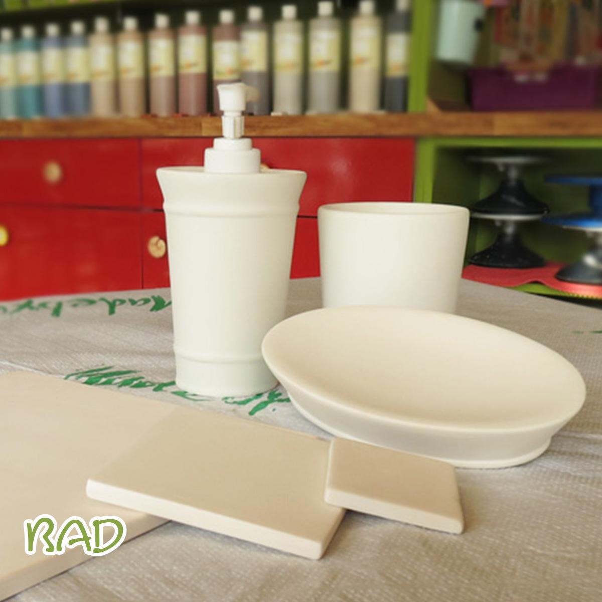 Keramik zum bemalen fürs Bad