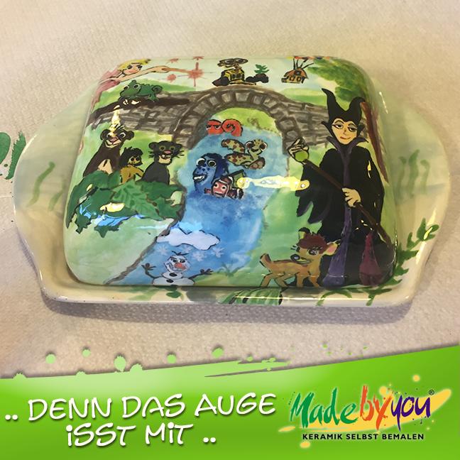 Keramik zuhausemalen.de | Hasendose (Farbegröße M) Dosen