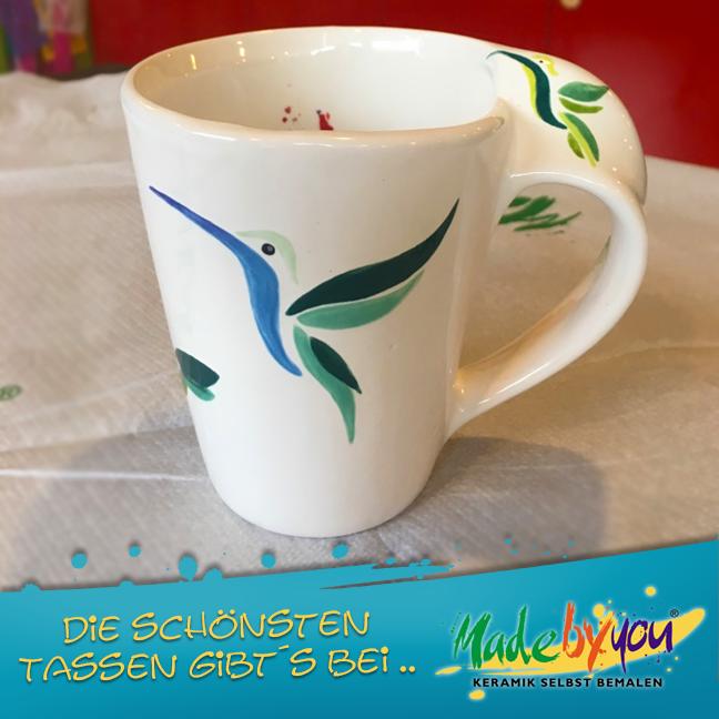 Keramik zuhausemalen.de | Große Cupcake Dose (Farbgröße L) Dosen