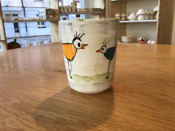 "Keramik zuhausemalen.de | Milchbecher <span style=""font-size: 10px"">(Farbgröße M)</span> Tassen&Becher"