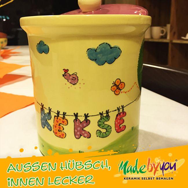 Keramik zuhausemalen.de | Runde Dose Small (Farbgröße S) Dosen