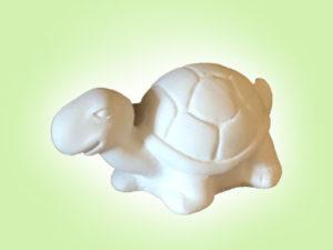 "Keramik zuhausemalen.de | Schildkröte Gerda <span style=""font-size: 10px"">(Farbgröße XS)</span> Figuren"