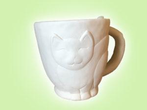 Keramik zuhausemalen.de | Kitty Becher (Farbgröße M) Tassen&Becher