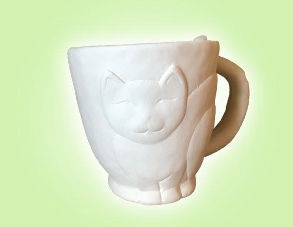 Keramik zuhausemalen.de   Kitty Becher (Farbgröße M) Tassen&Becher