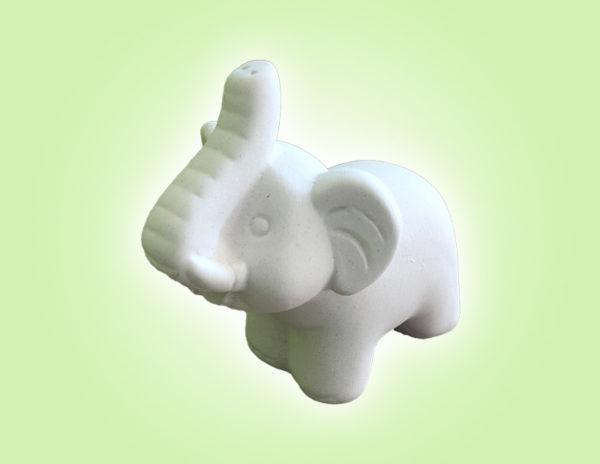 Keramik zuhausemalen.de   Baby  Elefant (Farbgröße S) Figuren