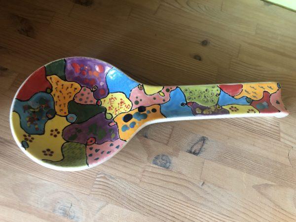 Keramik zuhausemalen.de | Kochlöffel Halter (Farbgröße M) Für den Tisch