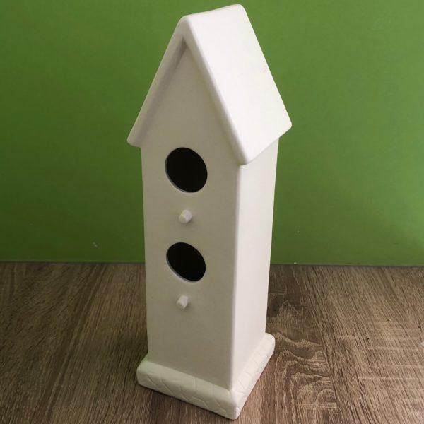 Keramik zuhausemalen.de | Vogelhaus groß (Farbgröße L) Frühlingsdeko