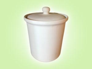 Keramik zuhausemalen.de | Retro Dose Medium (Farbgröße M) Dosen