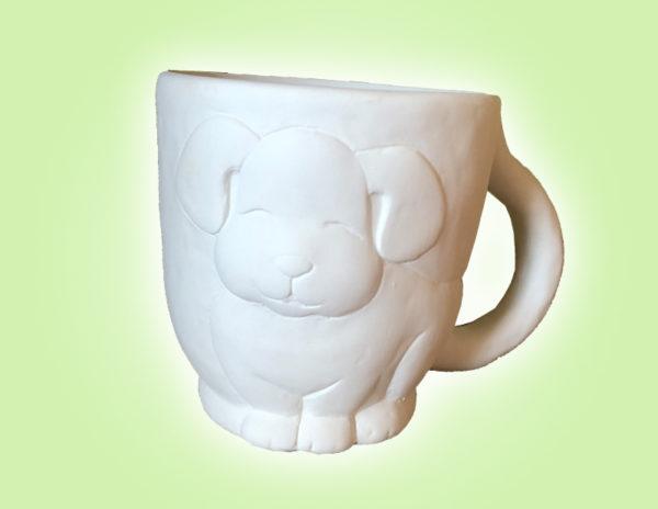 Keramik zuhausemalen.de | Dog Becher (Farbgröße M) Tassen&Becher