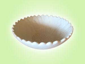 Keramik zuhausemalen.de | Sonnenblumen Schale klein ( Farbgröße M) Schüsseln&Schalen