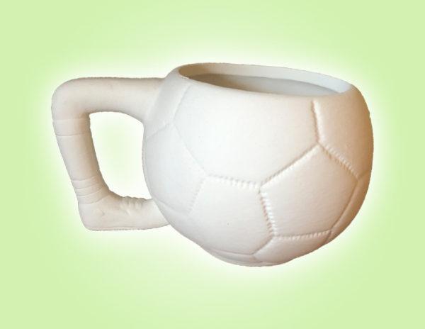 Keramik zuhausemalen.de | Fußball Tasse (Farbgröße M) Tassen&Becher