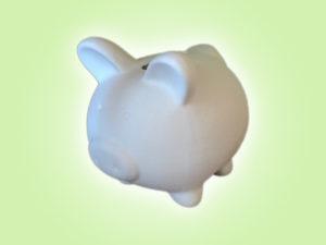 Keramik zuhausemalen.de | Sparschwein Lotte klein (Farbgröße S) Glücksbringer