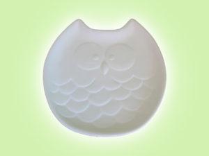 Keramik zuhausemalen.de | Eulen Teller  (Farbgröße S) Teller