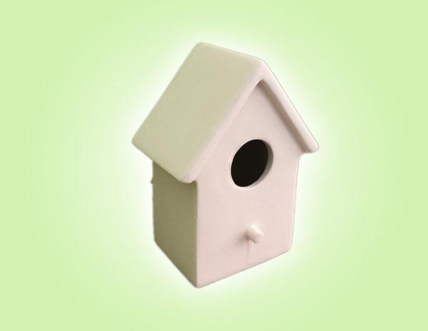 Keramik zuhausemalen.de   Vogelhaus klein (Farbgröße M) Frühlingsdeko