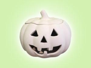 Keramik zuhausemalen.de | Halloween Kürbis Laterne (Farbgröße M) Herbst&Halloween