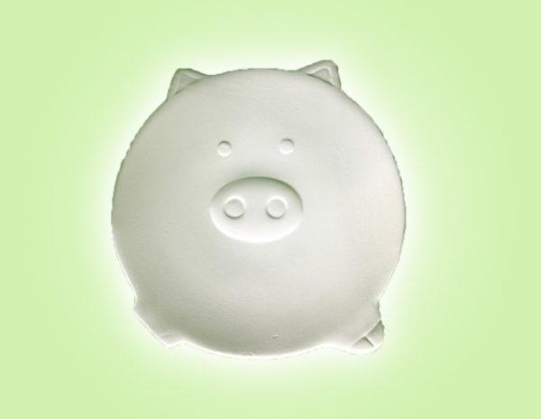 Keramik zuhausemalen.de | Schweinchenteller (Farbgröße S) Glücksbringer
