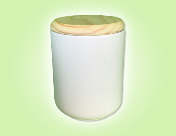 "Keramik zuhausemalen.de | Dose mit Holzdeckel Small <span style=""font-size: 10px"">(Farbgröße M)</span> Dosen"