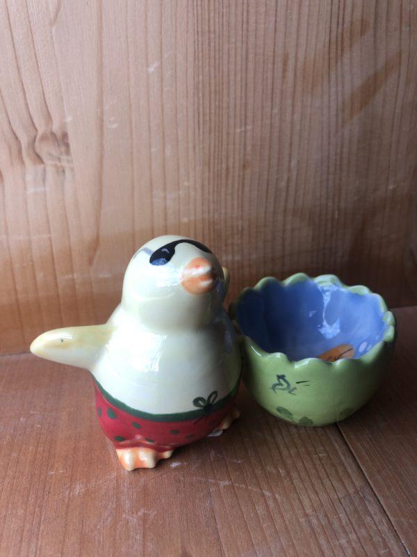 Keramik zuhausemalen.de | Eierbecher Küken (Farbgröße S) Für den Tisch
