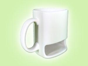 "Keramik zuhausemalen.de | Tunkbecher mit Keksfach <span style=""font-size: 10px"">(Farbgröße M)</span> Tassen&Becher"