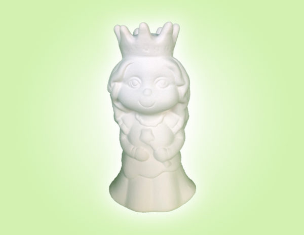 "Keramik zuhausemalen.de   Pretty Prinzessin (Farbgröße S)<span style=""font-size: 10px""></span> Figuren"