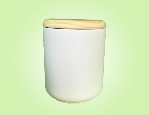 Keramik zuhausemalen.de | Dose mit Holzdeckel Groß (Farbgröße L) Dosen