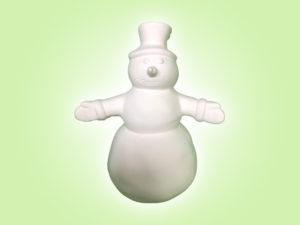 "Keramik zuhausemalen.de | Schneemann Jack Frost <span style=""font-size: 10px"">(Farbgröße M)</span> Figuren"