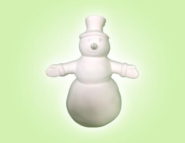 "Keramik zuhausemalen.de   Schneemann Jack Frost <span style=""font-size: 10px"">(Farbgröße M)</span> Figuren"