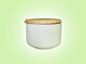 Keramik zuhausemalen.de | Dose mit Holzdeckel Medium (Farbgröße M) Dosen