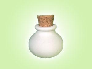 "Keramik zuhausemalen.de | kleiner Flakon <span style=""font-size: 10px"">(Farbgröße S)</span> Allerlei Utensilien"