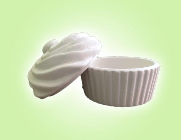 "Keramik zuhausemalen.de | Kleine Cupcake Dose <span style=""font-size: 10px"">(Farbgröße S)</span> Dosen"