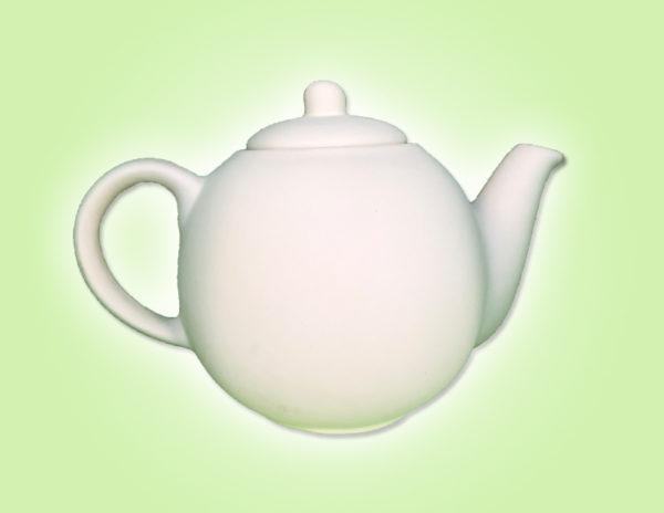 """Keramik zuhausemalen.de   Teekanne Tea Time <span style=""""font-size: 10px"""">(Farbgröße L)</span> Krüge & Kannen"""