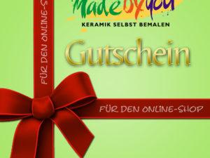 Keramik zuhausemalen.de | Gutscheine Gutscheine