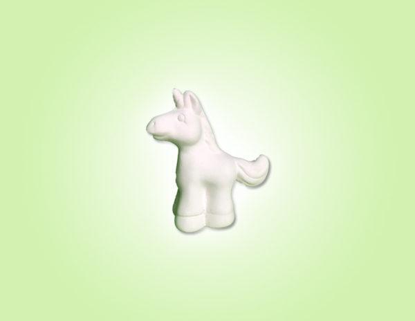 "Keramik zuhausemalen.de | Mini Einhorn Unicorn höhe 5,5 cm <span style=""font-size: 10px"">(Farbgröße XXS)</span> unsere kleinen Littels"