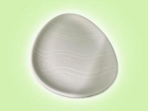 Keramik zuhausemalen.de | Ostereier Teller (Farbgröße M) Ostern