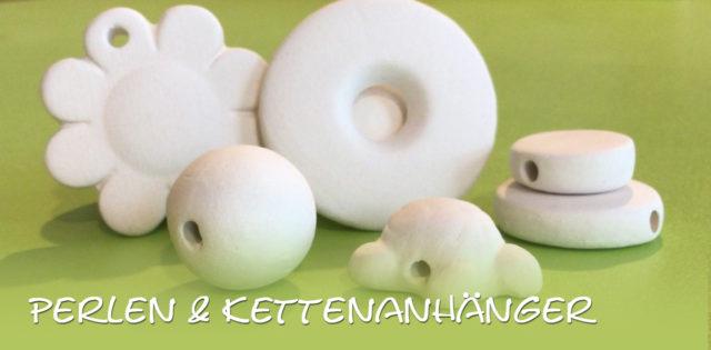 Perlen & Anhänger – Keramik selbst (zuhause) bemalen
